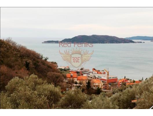 Urbanised Plot in Przno, Montenegro real estate, property in Montenegro, buy land in Montenegro