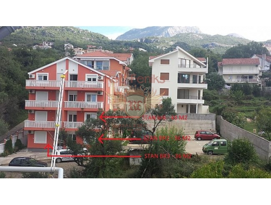 Topla 2'de Satılık Daireler (Herceg Novi), becici satılık daire, Karadağ da ev fiyatları, Karadağ da ev almak