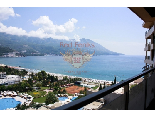 Two bedroom Apartment for sale, with high rental potential in Becici, Montenegro., hotel residences for sale in Montenegro, hotel apartment for sale in Region Budva