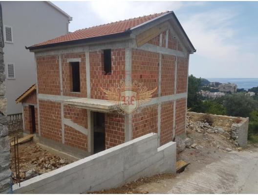Yeni Villa içinde Becici, Karadağ.