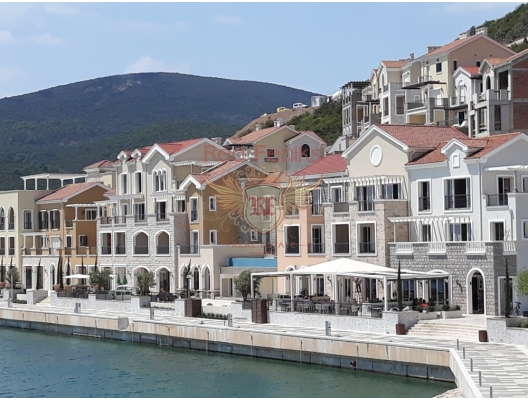 Lustica Bay is a new large-scale residential complex with its own infrastructure on the coast of the Lustica Peninsula in Montenegro.