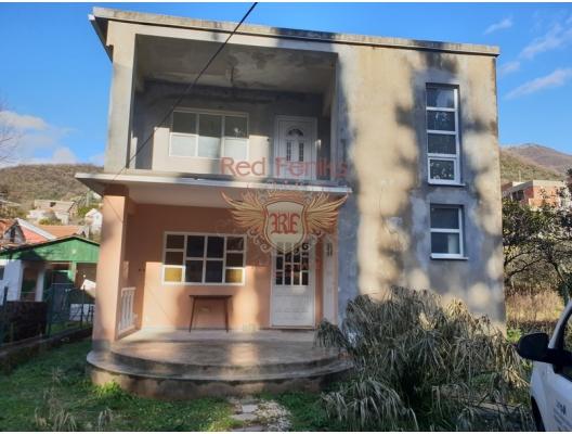 House for sale 200 square meters, near Porto Montenegro, 50 meters from the Jadran road, 100 meters from the sea, Tivat, Montenegro.