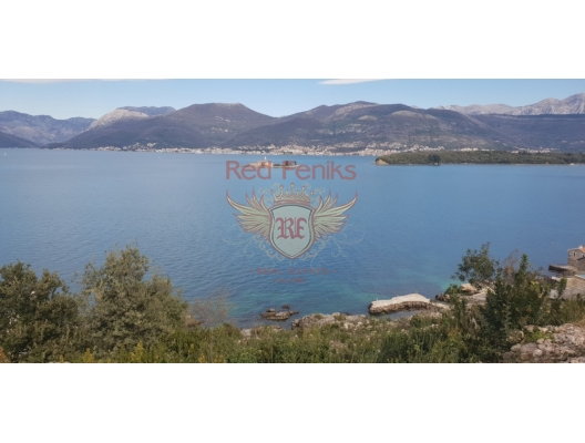 Urbanized Plot on the First Line, Montenegro da satılık arsa, Montenegro da satılık imar arsası