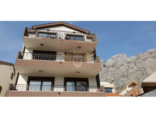 Two panoramic apartment 79 sq m one bedroom apartment in Orahovac, Kotor Bay, Montenegro, just 150 metres from the beach.