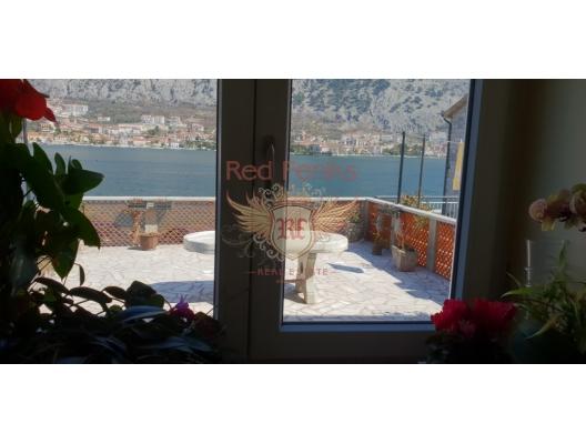 Kıyı Şeridinde Tripleks, Karadağ Villa Fiyatları Karadağ da satılık ev, Montenegro da satılık ev, Karadağ satılık villa