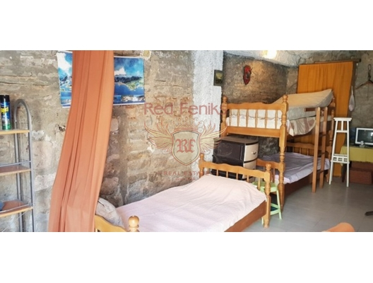 Old House in Muo, Dobrota house buy, buy house in Montenegro, sea view house for sale in Montenegro