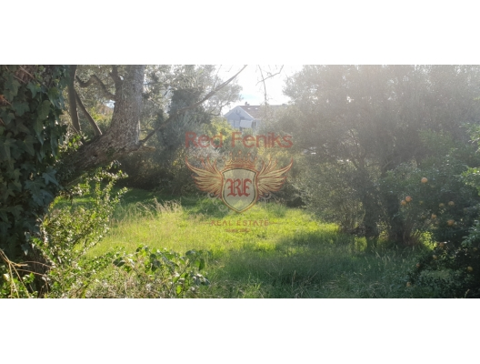 Urbanized panoramic plot in Tivat, Karadağ da satılık arsa, Karadağ da satılık imar arsası