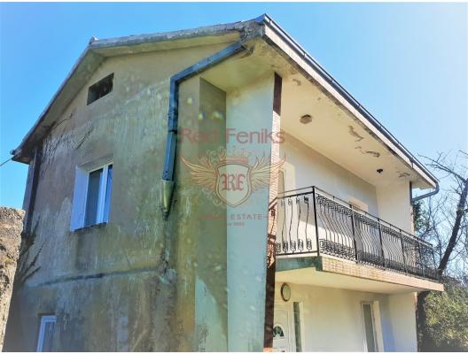 Lustica, Radovici'de yenilenmiş taş ev, Karadağ satılık ev, Karadağ satılık müstakil ev, Karadağ Ev Fiyatları
