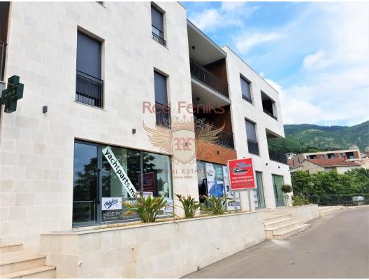 Tivat'ta denize 100 metre mesafede 2 yatak odalı yeni daire, Karadağ da satılık ev, Montenegro da satılık ev, Karadağ da satılık emlak