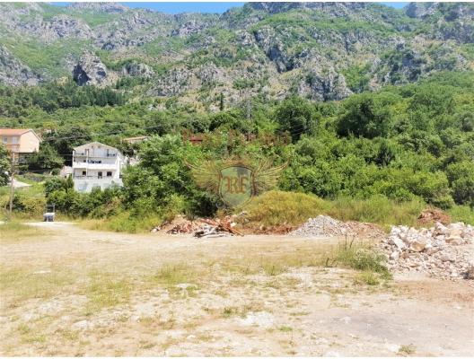 Boka Kotorska Koyu'ndaki şehirleşmiş arsa, Montenegro da satılık arsa, Montenegro da satılık imar arsası