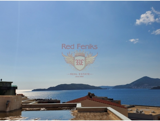 Panoramic Penthouse in Przno, sea view apartment for sale in Montenegro, buy apartment in Becici, house in Region Budva buy