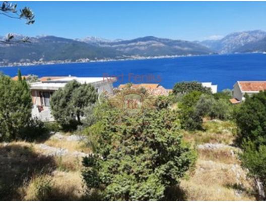 Krasici'de panoramik deniz manzaralı kentsel arsa, Karadağ da satılık arsa, Karadağ da satılık imar arsası