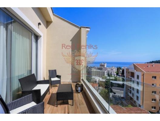 Schöne Wohnungen in Becici, Wohnungen zum Verkauf in Montenegro, Wohnungen in Montenegro Verkauf, Wohnung zum Verkauf in Region Budva