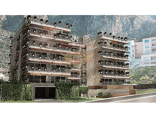 Flats in new complex in Dobrota, apartment for sale in Kotor-Bay, sale apartment in Dobrota, buy home in Montenegro