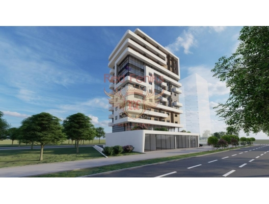 Apartments in a new building near the sea in Bar, apartments in Montenegro, apartments with high rental potential in Montenegro buy, apartments in Montenegro buy