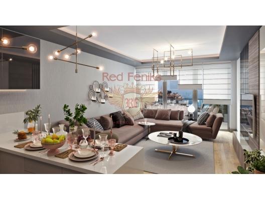 St Stephen yeni bir konut kompleksi içinde satılık iki yatak odalı daireler, Region Budva da ev fiyatları, Region Budva satılık ev fiyatları, Region Budva ev almak