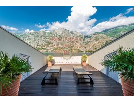 Modern New Villa On The First Line Of The Sea in Muo Kotor, buy home in Montenegro, buy villa in Kotor-Bay, villa near the sea Dobrota