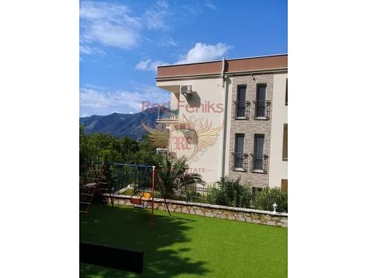 Kora, Orahovac, Boka Kotorska Koyu, Karadağ manzaralı bir sitede satılık iki yatak odalı daireler, Karadağ satılık evler, Karadağ da satılık daire, Karadağ da satılık daireler