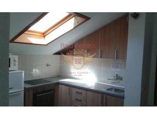 Rafailovici'de Geniş Apartman Dairesi, Karadağ satılık evler, Karadağ da satılık daire, Karadağ da satılık daireler