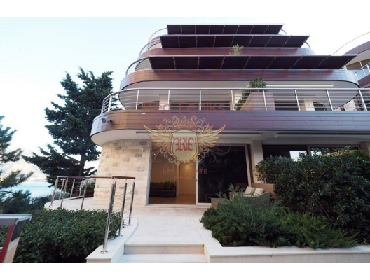 Budva'daki ilk hatta özel kapılı bir komplekste Onebedroom Apartmanı, Becici da ev fiyatları, Becici satılık ev fiyatları, Becici da ev almak