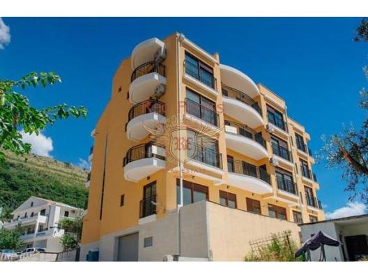 Petrovac'ta yeni bir evde üç daire, Karadağ da satılık ev, Montenegro da satılık ev, Karadağ da satılık emlak