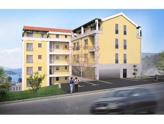 Herceg Novi' de Yeni Binada Daireler, becici satılık daire, Karadağ da ev fiyatları, Karadağ da ev almak