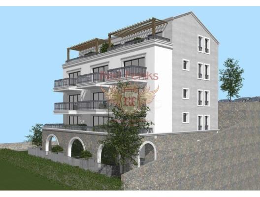 Kotor'da Denize Sifir Tek Yatak Odalı Daire, Karadağ da satılık ev, Montenegro da satılık ev, Karadağ da satılık emlak