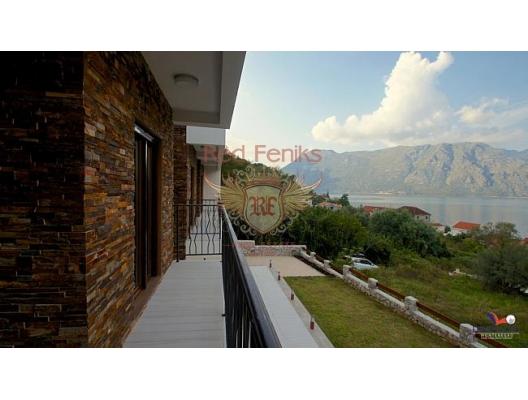 Kotor da yeni luks villa, Dobrota satılık müstakil ev, Dobrota satılık müstakil ev, Kotor-Bay satılık villa