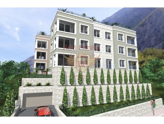 Apartments with view of Boka bay in Dobrota village., apartments for rent in Dobrota buy, apartments for sale in Montenegro, flats in Montenegro sale