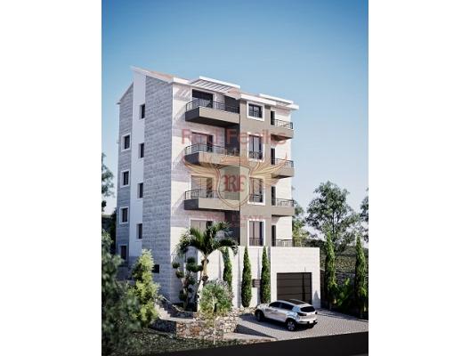 One bedroom apartment for sale in Przno, Budva Riviera Montenegro.