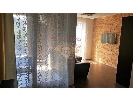 Rafailovici'de Geniş Stüdyo Daire, Karadağ satılık evler, Karadağ da satılık daire, Karadağ da satılık daireler