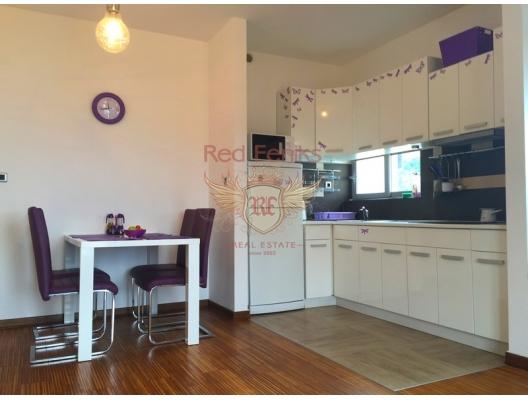 Przno'da tek yatak odalı daire havuzlu yeni site'de., Karadağ satılık evler, Karadağ da satılık daire, Karadağ da satılık daireler