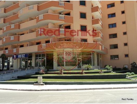 Budva'da iki tek yatak odalı daire., Karadağ satılık evler, Karadağ da satılık daire, Karadağ da satılık daireler