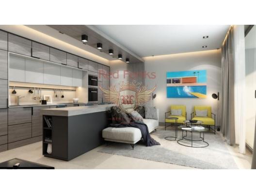 New Residential Complex on the First Line, becici satılık daire, Karadağ da ev fiyatları, Karadağ da ev almak