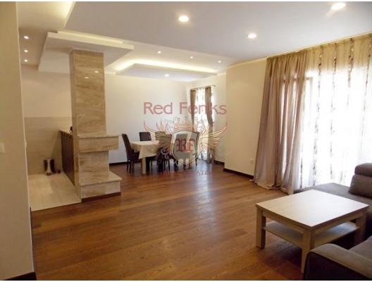 Budva'da iki odalı bir daire, Karadağ satılık evler, Karadağ da satılık daire, Karadağ da satılık daireler