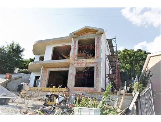 Tivat Koyu'nda panoramik deniz manzaralı ev, Baosici satılık müstakil ev, Baosici satılık müstakil ev, Herceg Novi satılık villa