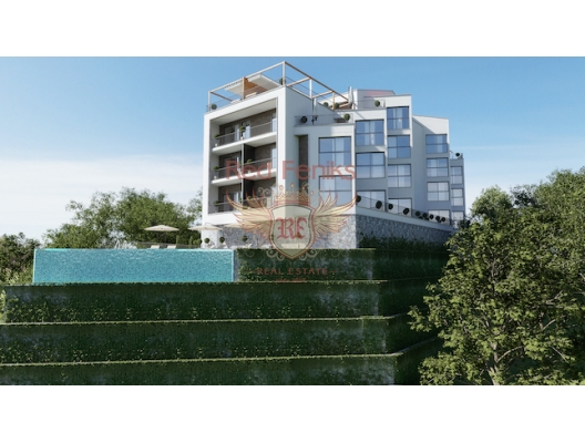 Panorama Apartment In Tivat, hotel in Montenegro for sale, hotel concept apartment for sale in Bigova
