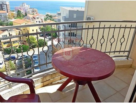 Montenegro Becici'de panoramik deniz manzaralı satılık daire, Karadağ satılık evler, Karadağ da satılık daire, Karadağ da satılık daireler