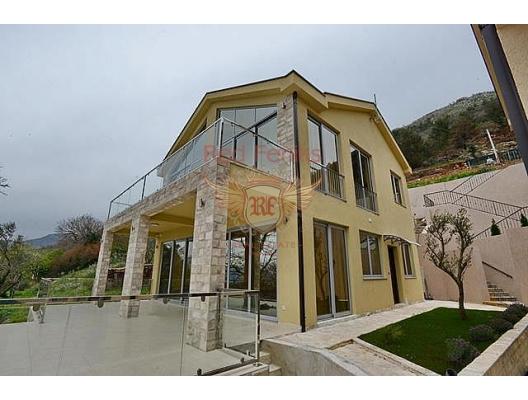 Kavac'ta modern ev (Tivat), Karadağ Villa Fiyatları Karadağ da satılık ev, Montenegro da satılık ev, Karadağ satılık villa