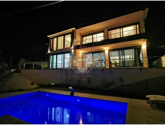 Modern Villa with Pool and Sea View in Bar, Shushan, Bar house buy, buy house in Montenegro, sea view house for sale in Montenegro