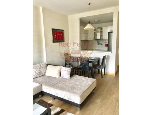 Budva'da Tek Yatak Odalı Daire, Karadağ satılık evler, Karadağ da satılık daire, Karadağ da satılık daireler
