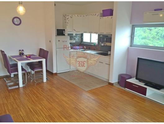 Przno'da tek yatak odalı daire havuzlu yeni site'de., becici satılık daire, Karadağ da ev fiyatları, Karadağ da ev almak