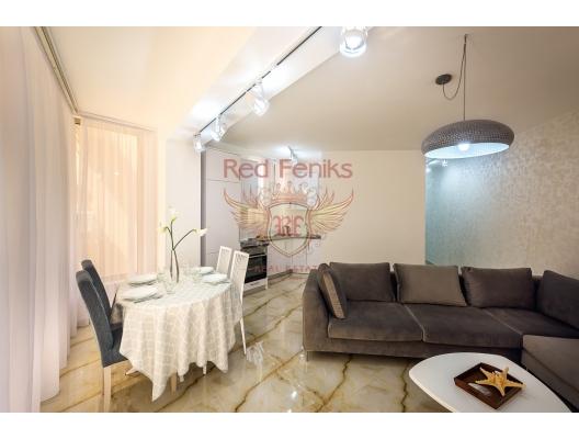 Rafailovici'de Tek Yatak Odalı Daire 1+1, becici satılık daire, Karadağ da ev fiyatları, Karadağ da ev almak