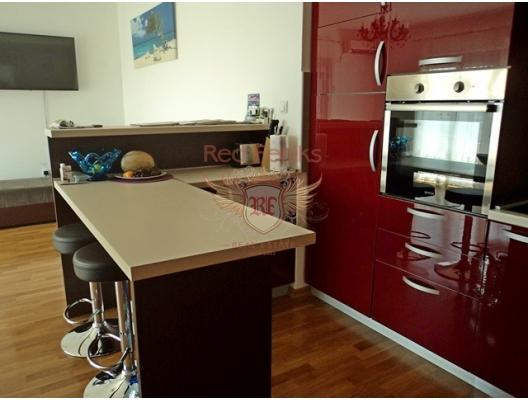 Rafailovici'de iki odalı bir daire, becici satılık daire, Karadağ da ev fiyatları, Karadağ da ev almak