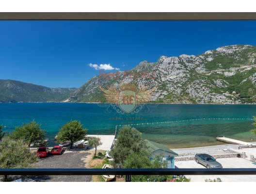 Risan'da panoramik deniz manzaralı tek yatak odalı daire, Montenegro da satılık emlak, Dobrota da satılık ev, Dobrota da satılık emlak