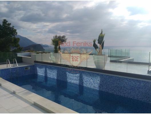 Budva, Vidikovac Villaları, Karadağ da satılık havuzlu villa, Karadağ da satılık deniz manzaralı villa, Becici satılık müstakil ev