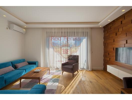 Budva'da Şık Daire 1+1, Karadağ satılık evler, Karadağ da satılık daire, Karadağ da satılık daireler