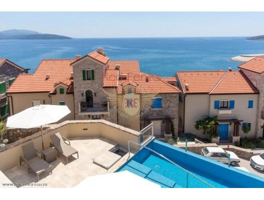 Exclusive Residential Complex in Lustica, hotel in Montenegro for sale, hotel concept apartment for sale in Krasici