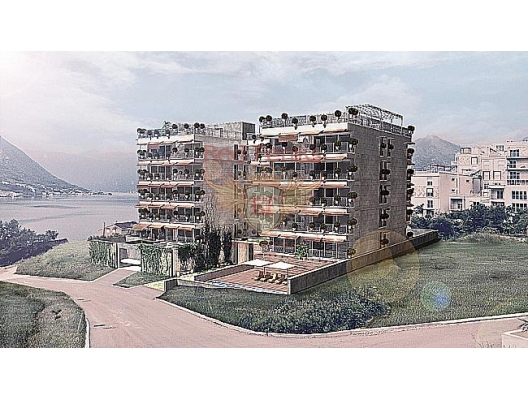 Flats in new complex in Dobrota, apartments in Montenegro, apartments with high rental potential in Montenegro buy, apartments in Montenegro buy