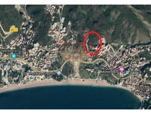 Plot for sale in Becici, Budva Riviera, Montenegro It is located in an excellent location and has a high investment potential The project of construction of a residential complex with an area of 33 800 m2 Engineering power supply networks are brought to the border of the plot, water, sewage and telecommunications The asphalt municipal road is brought to the border of the plot Possible options for co-investment.